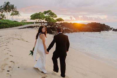 Sony and Alexandra // Four Seasons Hualalai Wedding