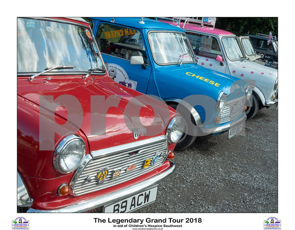 The Legendary Grand Tour 2018 - Saturday - Big Sheep Mini Show and Saturday Night Cruise