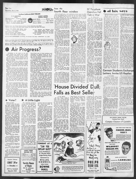 Daily Trojan, Vol. 39, No. 71, January 08, 1948