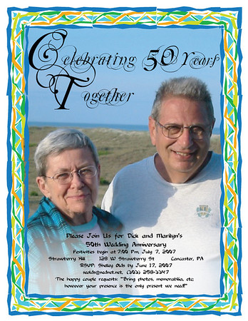 50th Anniversary of Dick & Marilyn - July 6, 2007
