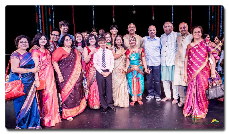 Divya & Lakshmi's Bharatanatyam Arangetram 2016 - Highlights