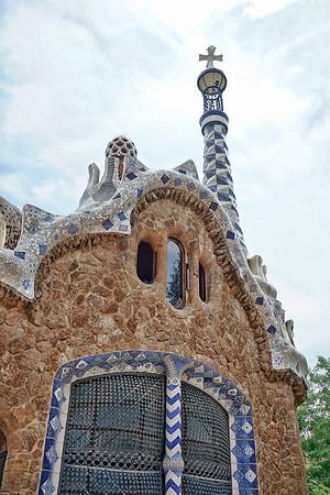 Park Güell by Antoni Gaudí / Barcelona, Spain