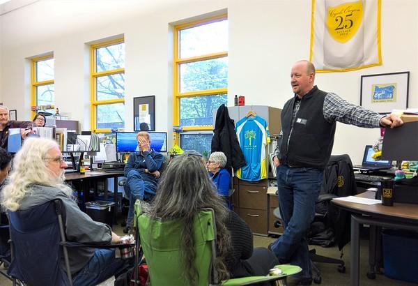 Cycle Oregon Volunteer Event April 17, 2018