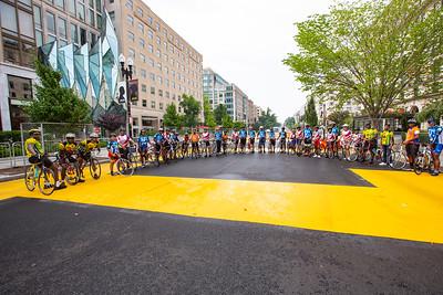 BLM Plaza Cyclists