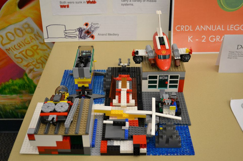 . CRDL 2012 Lego contest (Photos courtesy of Chippewa River District Library)