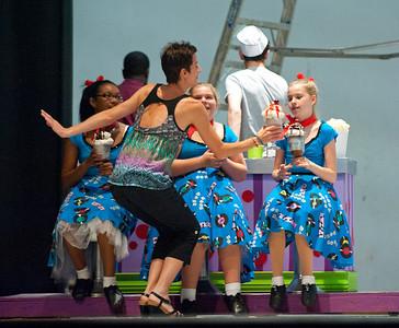 Coup'e Theatre Studio Dance Festival 2012, Final Rehearsal