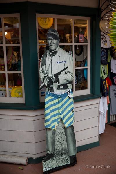 The Duke, hawaiian style. Kona, Hawaii