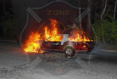 Seaford F.D. Car Fire 1814 Park Dr. 10/23/08
