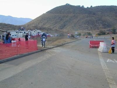 the Mushman 100M  race at Elsinore