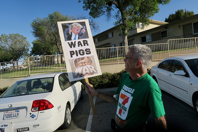 Harbor City - Anti War Demonstration