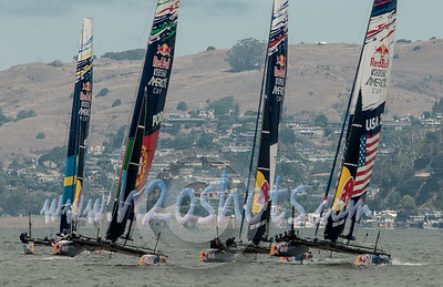 Red Bull Youth America's Cup Aug 26 Practice