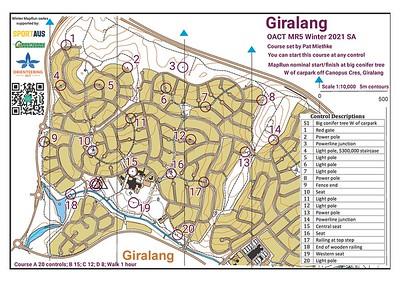 2 August 2021 Giralang street O