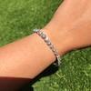 9.50ctw Round Brilliant Diamond Tennis Bracelet 43