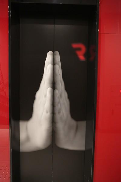 Zen Buddhist Elevator Door # 1