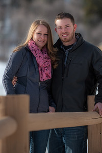 Colleen and Geoff Engagements Snowbasin