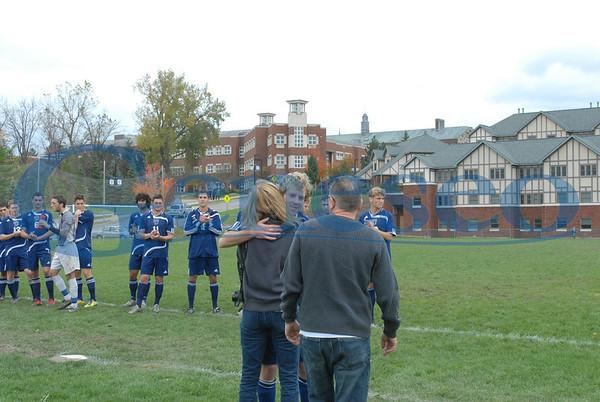 Men's Soccer- Senior Day 2011
