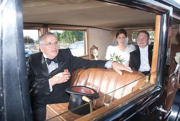 Richard Sarah wedding