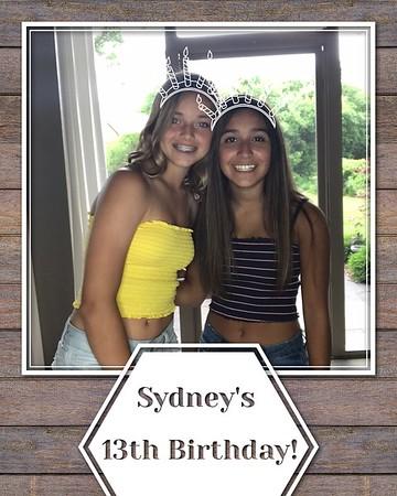 Sydney's 13th Birthday (06/08/18)