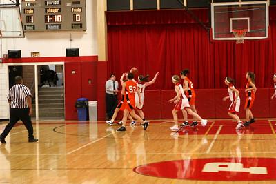 Girls JV Basketball - 2008-2009 - 1/8/2009 Ludington