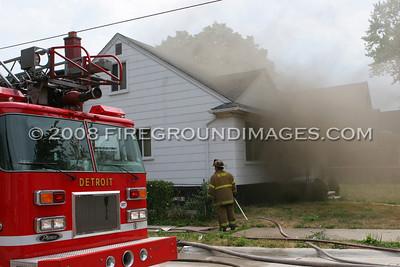 Joann St. Fire (Detroit, MI) 7/29/07