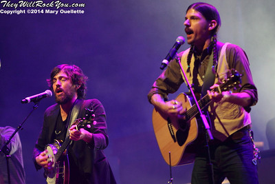 The Avett Brothers <br> March 8, 2014 <br> TD Garden - Boston, MA <br> Photos by: Mary Ouellette