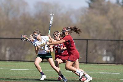 4/29/15: Girls' Varsity Lacrosse vs Greenwich Academy
