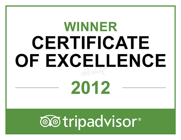 trip advisor certificate of excellence - The Ranthambhore Bagh