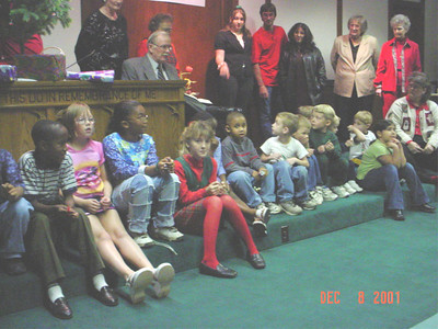 2001-Fairview Christmas Party
