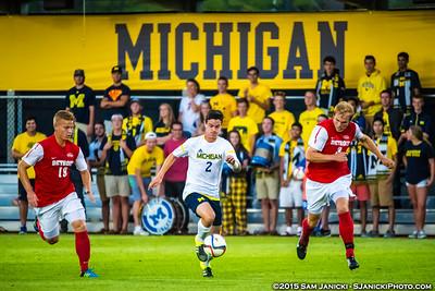 9-16-15 Michigan Men's Soccer Vs Detroit