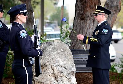 Photos: Boulder Police Department Memorial Service