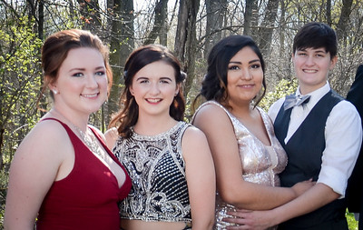 East Noble Prom 2016 for K. Strange and friends