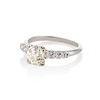 1.48ctw Antique Old European Cut Diamond Ring 1
