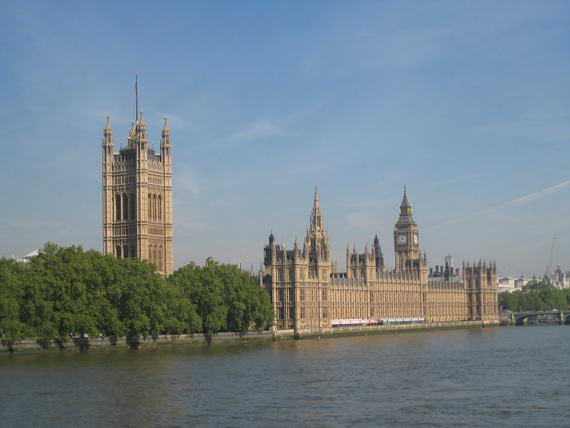 The Parliament and Big Ben, London