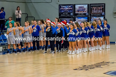 Sycamore Basketball Cheer & Dance Vs HMS