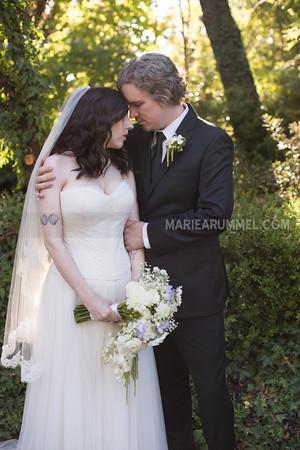 Emily and Michael: Newcastle Wedding Gardens