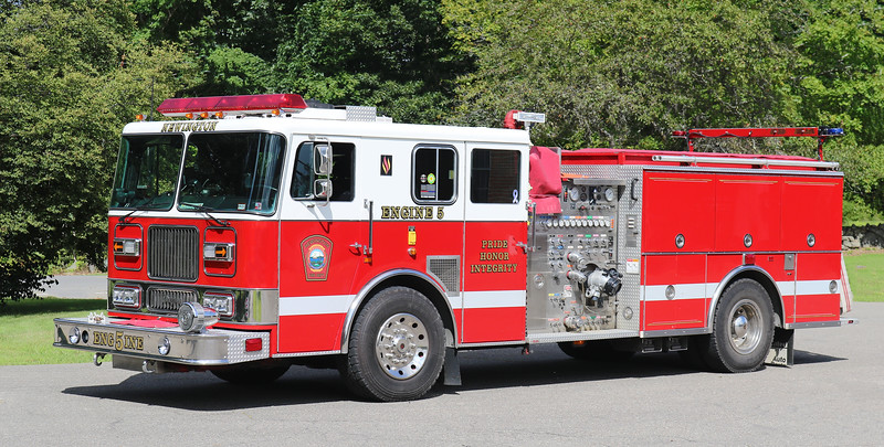 Engine 5.  1996 Seagrave.  2000 / 750