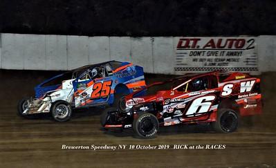 Hurricane 100 - Brewerton Speedway - 10/10/19 - Rick Young