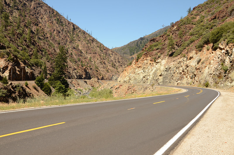 Feather River Canyon. Getting quite warm...