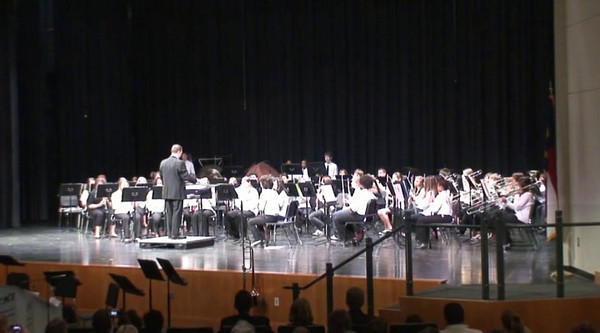 2010-03-18: Concert With Reedy Creek Middle