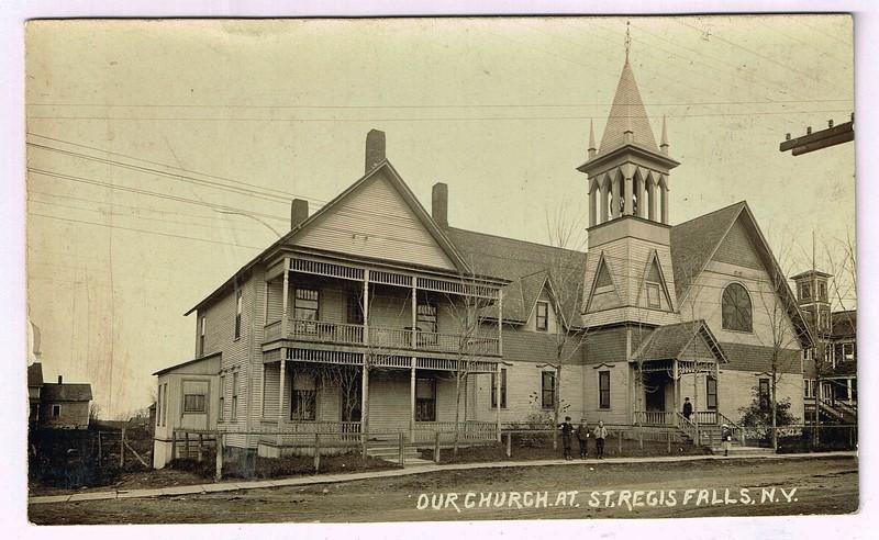 Church St.Regis Falls, N.Y.