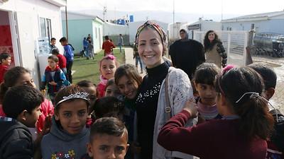 Tented School in Bekaa November 2018
