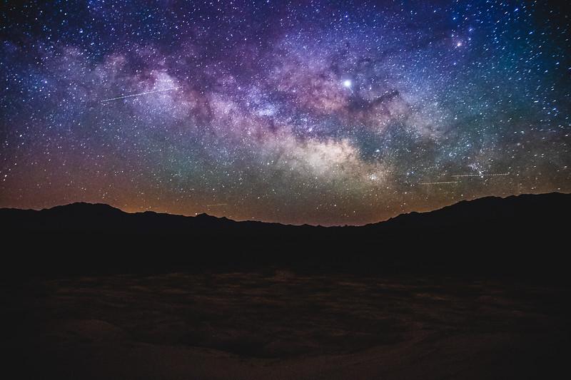 Kelso Dunes at Night