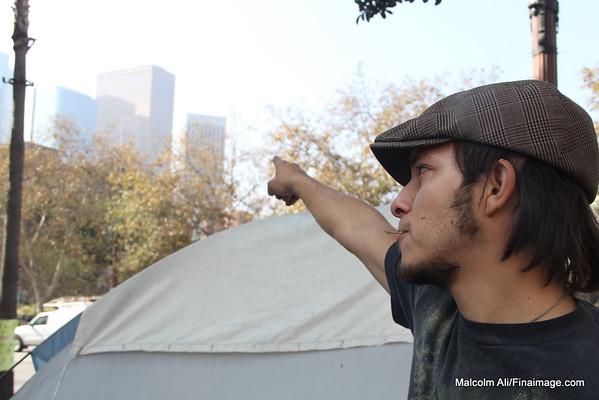 Occupy L.A. 11-15-2011
