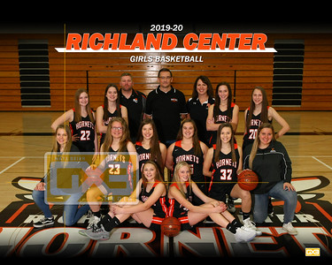 Richland Center girls basketball GBB1920