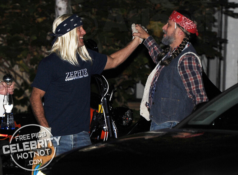 Kate Hudson's Halloween Party Sees Hollywood's Stars Dress Up As Sons Of Anarchy!