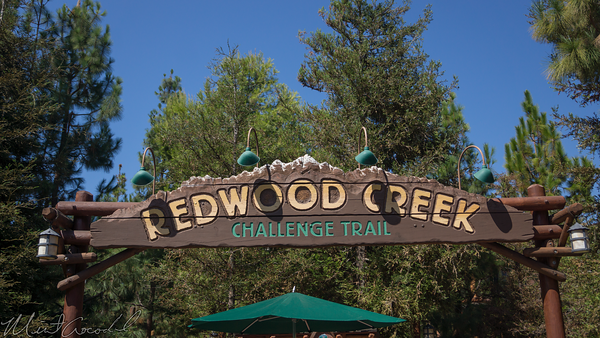 Disneyland Resort, Disney California Adventure, Redwood Creek Challenge Trail