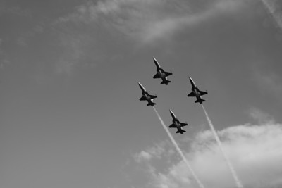 Patrouille Suisse bei Rapperswil