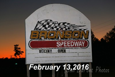 Bronson Speedway 2/13/2016