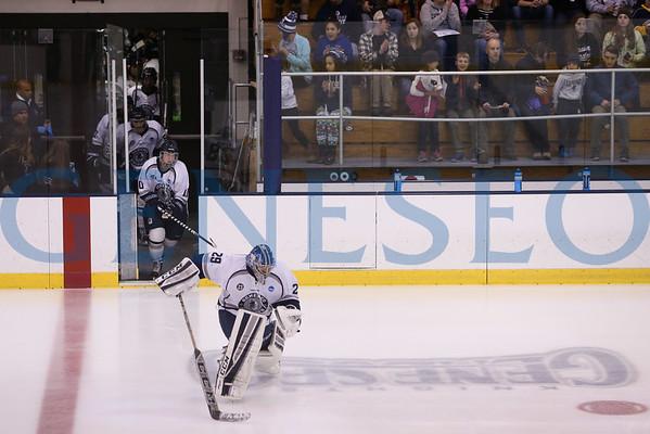 Men's Ice Hockey vs. Cortland (Photos by Ben Gajewski)