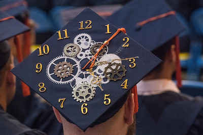 32052 Statler College Commencement and speaker Jon Hammock May 2016